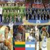Lithuania - Argentina, Quarter Finals, 2010 Fiba World Turkey Puzzle